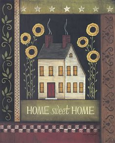 free images to make saltbox houses | Prim Home Sweet Home Bear Facebook themes. Create your own Prim Home ...