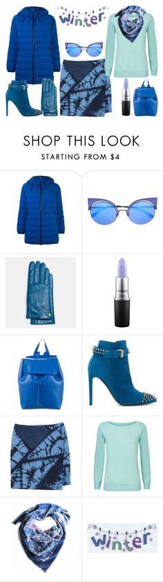 """Bright Puffer Jacket"" by imanimari on Polyvore featuring Aspesi, Fendi, Coach, MAC Cosmetics, Mansur Gavriel, Philipp Plein, Band of Outsiders, Jaeger and Insitucity"