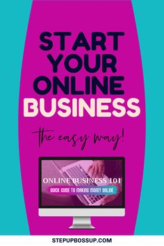 Learn to make money online in business. Your guide to starting an online business as a beginner. Learn useful online business tips to get you started easily. Start A Business From Home, Starting A Business, Make Money Online, How To Make Money, How To Get, Business Tips, Online Business, Learning, Studying