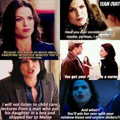Nobody delivers zingers with such contempt as Regina (Lana Parrilla). #OUAT #EvilQueen