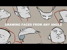 (13) Drawing Faces From Any Angle - YouTube