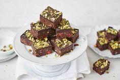 Raw chocolate brownies recipe