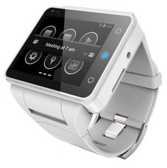 neptune pine - an android smartphone on your wrist... a bit big as far as smartwatches go, though the feature set blows the rest away AND it's a phone all on its own...