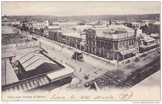 View over Durban & Berea , South Africa , Kwazulu Natal, Sales Image, African History, Historical Society, South Africa, Paris Skyline, Street, City, Pictures