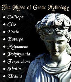 Muses in Greek mythology
