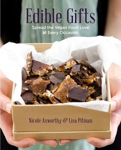 Edible Gifts: Spread the Vegan Food Love at Every Occasion. By Lisa Pitman and Nicole Axworthy. It's that time of year when celebrations and gift-giving are on our minds, and so it seemed fitting to create an eBook especially for this tradition. Most celebrations centre around food, and so it is... Nicole Axworthy http://www.pinterest.com/adashofvegan and Lisa Pitman http://www.pinterest.com/theveganlisa are members of Vegan Community Board http://www.pinterest.com/heidrunkarin/vegan-community