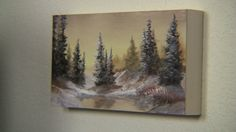 """Have you ever wanted to try painting on a birch panel? Watch Kevin as he shows you how to paint on a 6"""" by 12"""" inch panel, which is available in the oil paint set. This panel is a perfect size for small spaces (or any wall) if you want to hang some original art work. For more information about the oil paint set, go to www.paintwithkevin.com"""