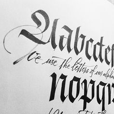 Chiara Riva - #Calligraphy Collection on Behance