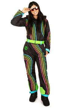 Women's Carving Colors Ski Suit