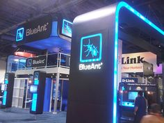 #8 - 25 Eye Catching Trade Show Stands - BlueAnt