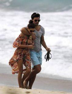 OLIVIA PALERMO & JOHANNES HUEBL beach style