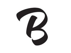 Dribbble - It's a B by Mika Melvas Graffiti Lettering Alphabet, Graffiti Font, Typography Letters, Alphabet Design, Alphabet Art, Typography Inspiration, Logo Design Inspiration, Lettering Design, Branding Design