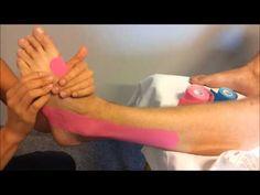 Tejpování kotníku - kinesiotaping - YouTube Youtube, Natural Medicine, Anatomy, Youtubers, Youtube Movies