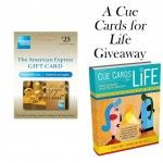 Holiday Gift Guide G!ve-Away! W!n Cue Cards for Life & an Amex G/C!