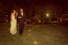 There's nothing more adorable than a father walking his little girl down the aisle! Photo by: Proietti Fotos and Video