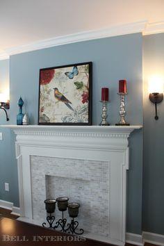 Benjamin Moore Mount Saint Anne Master Bedroom Room