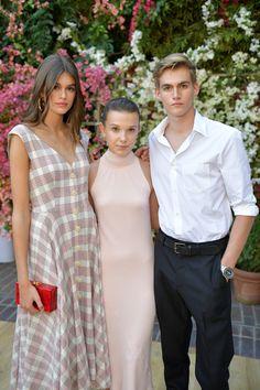 awesome Zendaya, Kaia Gerber, Haim & Mehr Heraus Kam, für eine Theatralische CFDA/'Vogue' Fashion Fund Show in LA
