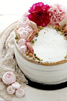 Mascarpone Cake, Drop Cake, American Cake, Torte Cake, Angel Cake, Cakes For Women, Birthday Cake Decorating, Chiffon Cake, Colorful Cakes