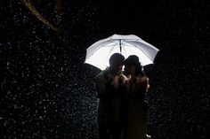 They say rain on your wedding is a blessing.
