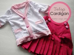 Free Sewing Pattern and Tutorial: Tulip Cardigan