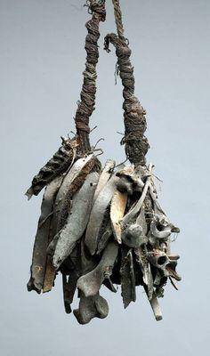 Medicine bag, New Guinea. Randall Morris