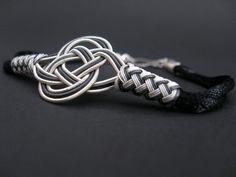 Love Knot 1000 K Sterling Silver Bracelet by LUNAjewelrystudio, $150.00