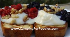 Channel 12 Arizona Midday featured my 4th of July Pound Cake camp recipe-Camping For Foodies