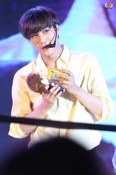 #Kai #EXO Kang Shifu fanmeet