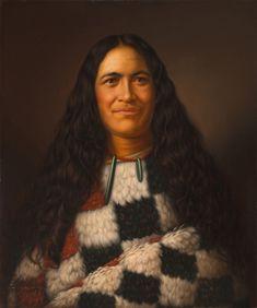 Huria Matenga Ngarongoa (Julia Martin) oil on canvas painting, by G Lindauer. Maori Designs, Nz History, Ancient History, Auckland Art Gallery, Maori Symbols, Polynesian People, Popular Paintings, Art Paintings, Maori People