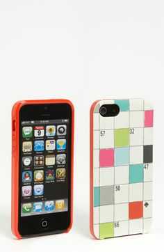 kate spade new york 'crossword puzzle' iPhone 5 case (Nordstrom Exclusive) available at Nordstrom