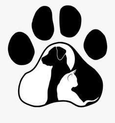 Ideas tattoo dog cat silhouette for 2019 Machine Silhouette Portrait, Dog Silhouette, Silhouette Cameo Projects, Cat Design, Logo Design, Creation Image, Dog Tattoos, Dog Paws, Pyrography