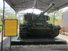 This blog is about fulfilling the dream of our kids to see real tanks in person and not just in snaps and videos. Little we knew that Asia's biggest Cavalr
