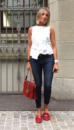Panama - clothes - # Outfits 2019 Outfits casual Outfits for moms Outfits for school Outfits for teen girls Outfits for work Outfits with hats Outfits women Mode Chic, Mode Style, Fashion Over 50, Look Fashion, Womens Fashion, Mode Outfits, Casual Outfits, White Outfits, Spring Summer Fashion