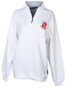 sigma kappa quarter zip- adam block designs. Maybe in black, grey or navy instead!