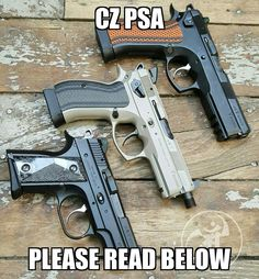 You know we are huge @czusafirearms buffs so we decided to reach out with a quick tips of purchasing CZ holsters.  1.) Model on the website is EXACTLY the model engraved on your slide. 100% if your slide does not say the same on the website....DO NOT ORDER without asking for assistance first.  2.) Urban Suppressor models are identical to non Urban models except they have suppressor sights. Suppressor sights are an option in our builders.  3.) Threaded barrels our holsters are flush muzzle…