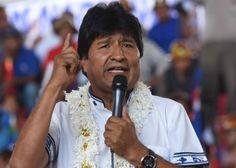 Evo Morales anuncia su candidatura a la reelección para un cuarto mandato