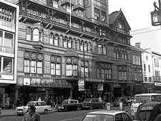 Black Boy Hotel, Long Row East, Nottingham, 1960s. Nottingham Pubs, Local History, Family History, Old Pub, England Uk, Back In The Day, Old Pictures, Britain, Past