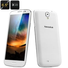 http://www.andnykstore.com/nexodus-pro-android-smartphone.html The Nexodus Pro is an Android 4.2 Smartphone featuring a 6.5 Inch FHD Capacitive Screen, a Quad Core MTK6589T CPU and 2GB RAM as well as 16GB Internal Memory. The Nexodus Pro demands a serious look as it's a large screen phone with everything to compete with top brand models but at a fantastic price. Take a larger view on everything in your life with this phones expansive 6.5 inch full HD 1080p capacitive IPS screen that is…