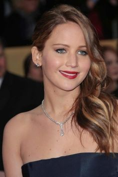 Question: Who had the hottest hair at the 2013 SAG Awards?   Answer: Jennifer Lawrence and... http://www.latest-hairstyles.com/celebrities/screen-actors-guild-awards.html