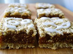 Skinny Figgy Bars- low-fat and #vegan holiday treat
