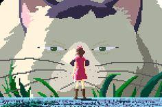 8-bit Ghibli on Behance