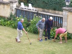 House rules for Croquet.
