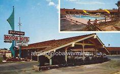 "Old Photo Modesto, California ""Driftwood Motor Hotel"""