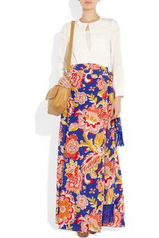 Skirts, Wrap skirts and Printed on Pinterest