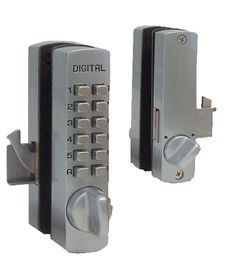 The Lockey 2210 Keyless Deadbolt is ideal for business storefront ...