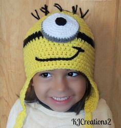 Fun character hat by kjcreations2 on Etsy