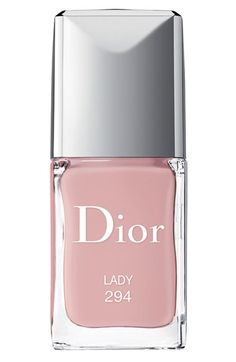 gel shine & long wear nail lacquer in lady / dior