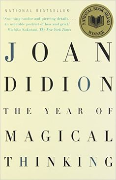 http://www.amazon.com/Year-Magical-Thinking-Joan-Didion/dp/1400078431/ref=sr_1_1?ie=UTF8