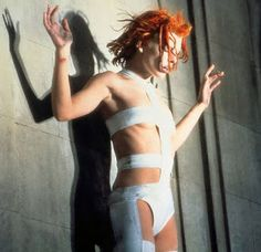 fifth element film. Leeloo bandage outfit, ideas for structure?