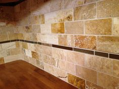 travertine backsplash kitchen - yahoo image search results